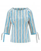 blouse stripes print