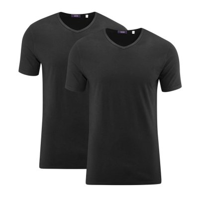 T-shirt, pack of 2 (bomull)